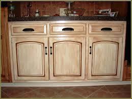 Distressed Kitchen Furniture Antiquing Kitchen Cabinets Design Porter
