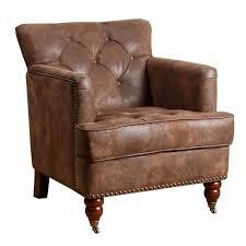 abbyson living misha tufted accent chair