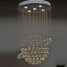 Lighting Chandeliers Pendants Led Crystal Chandeliers Pendant Lights Lamp For Living Room Modern Chandelier Lighting Stairway Indoor Deco Home Crystal Lamps Fixtures Lighting