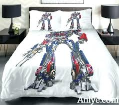 transformer bed sheets transformers bedding set best gift for teenagers printed the car man on single transformer bedding set teen boy sets twin