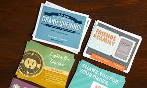 Grand Opening Postcards Custom Postcards From Vistaprint Groupon Goods