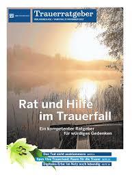 Rat Und Hilfe Im Trauerfall By Neue Osnabruecker Zeitung Issuu