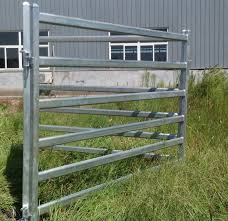 Metal Fence Panels Livestock Fence and Gate Design Ideas
