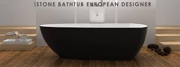 freestanding stone bathtub. stone solid surface baths freestanding bathtub n