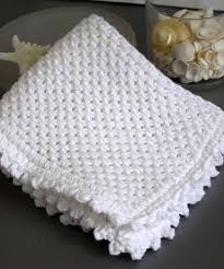 Knit Dishcloth Pattern Simple Picot Edge Knit Dishcloth Pattern FaveCrafts