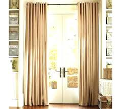 sliding door curtains target double door curtains french door curtain alternative and french door curtain double