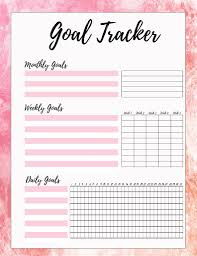 Daily Goals Template Free Printable Goal Sheets Popsugar Smart Living