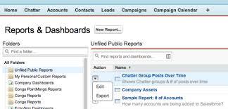 Salesforce Report Chart Types Salesforce Dashboards Chart Basics