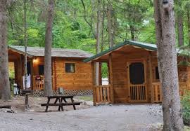cabin camping in the woods. Cabin Camping In The Woods N