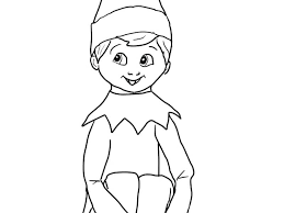 Coloring Pages Elf Dexyarya