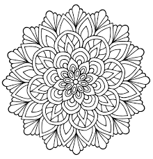 Sending a floral picture is a lot like sending a live bouquet of flowers. Flower Mandala Coloring Pages Coloring Rocks