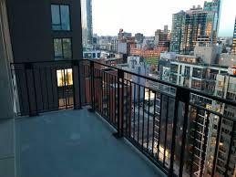 highrise windy balcony