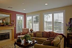 Window Treatments For Living Room Custom Plantation Shutters For Living Room Windows