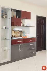 Crockery Unit Design Ideas Pin By Amit Sinha On Dining Kitchen Design Kitchen