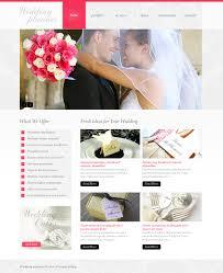 Amazing Wedding Planning Website Wedding Planner Psd Template