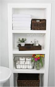 built in open face wooden cabinet