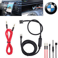buy mazda 6 aux 3 5mm car audio aux in input interface adapter music cable for bmw e46 98