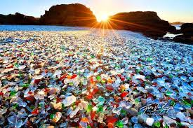 glass beach glass beach fort bragg california usa