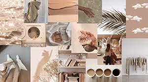 beige collage