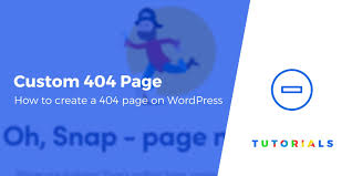 Wordpress 404 Page Design How To Create A Custom 404 Page Template In Wordpress In 3