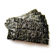nori sheet sukiyabashi jiro nori dried seaweed half cut 10 sheets takaski com