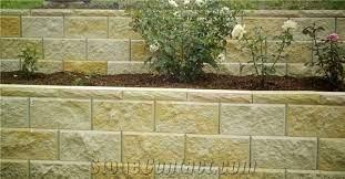 ezywall retaining wall blocks beige