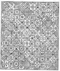 Cindy Needham: Quilting with vintage lace/linens   Quilting ... & diagram by Tandy Hersh of an 1809 wholecloth quilt Adamdwight.com