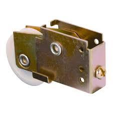 prime line sliding mirror door roller assembly