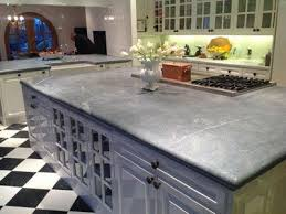 note soapstone is impenetrable and will not stain non porous stone kitchen countertop options