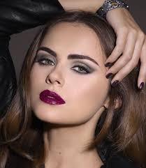 xenia deli looks stunning in dark romance autumn makeup 2016 rockandromance xenia4isadora xeniadeli
