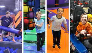 Sky Zone Sock Size Chart These Gravity Defying Parks Are Loaded With Trampolines