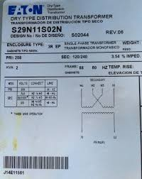 transformer wiring question Dry Type Transformer Wiring Diagram name eaton transformer data plate jpg views 715 size 159 2 kb dry type transformer wiring diagrams
