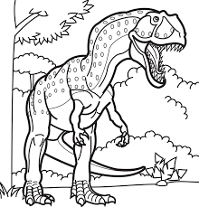 Small Picture Coloring Page Pages Draw A Dinosaur mosatt