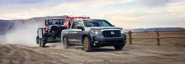 how much can the 2021 honda ridgeline tow