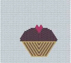 Brick Stitch Patterns Classy Operation Tackle That Bead Stash Hey Cupcakes Free Brick Stitch