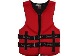 Supreme Obrien Life Vest Red