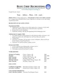 Resume Objective For Warehouse Paknts Com