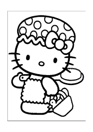 Hello Kitty Kleurplaten 19