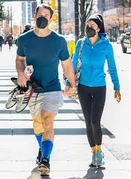 John Cena and His Wife Shay Shariatzadeh Sweetly Hold Hands in Canada