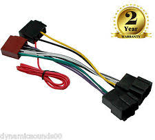 saab wiring looms ct20sa03 iso lead stereo head unit adaptor wiring harness for saab 9 3 9