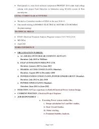 ... Power system studies  Project Management; 3.
