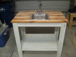 ana white my simple outdoor sink diy s