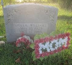 Dollie Lindsey Williams (1929-1985) - Find A Grave Memorial