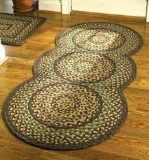 braided kitchen rugs oval