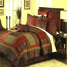 olive green bedding comforter set cal king bed sets queen brown rust in a bag twin