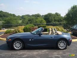 2003 Toledo Blue Metallic BMW Z4 2.5i Roadster #15579837 Photo #10 ...