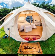 camping - glamping - camping gear - outdoor decor - tents fun furnishings -  outdoor theme