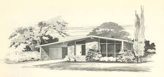 mid century modern house plans. 735 In Vintage House Plans 1960s: More Mid Century Modern Homes