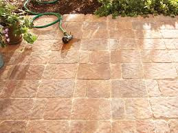 outdoor area with paving stones