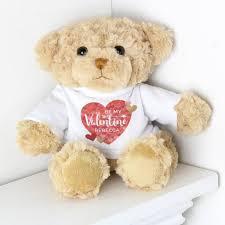 personalised valentines teddy bear by sy bloom as seen on tv notonthehighstreet